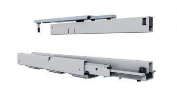 Apothekerskast geleider  750 mm - met geintegreerde demping