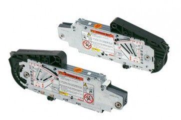Beslageenheid nikkel model  B (350-525mm) Aventos HS
