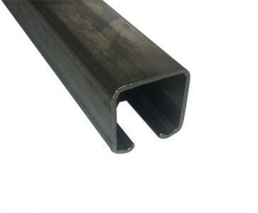 Schuifdeur rail - L=400 cm - Maximale belasting 200 Kg/meter - RVS316