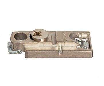 Rechte montageplaat - 0 mm - montage met schroef dikte 3,5 mm - productafbeelding - 175H5400