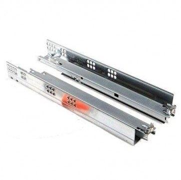 Blum Tandem 550H Blumotion softclose ladegeleider - kogelgelagerd - inbouwlengte 650 mm - uittreklengte 590 mm - max 30 Kg - staal verzinkt