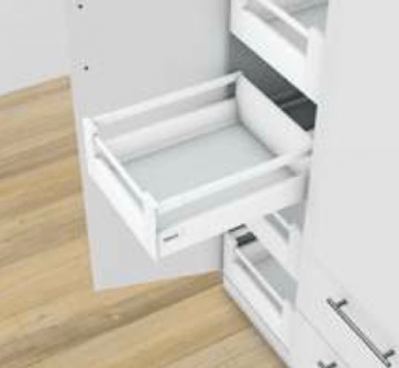 Blum Antaro Blumotion - Binnenlade M/Reling C - hoogte 192mm - 65kg - Zijdewit