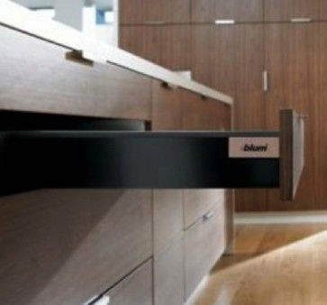Blum Antaro Blumotion - Lade K - hoogte 115mm - 65kg - Terrazwart