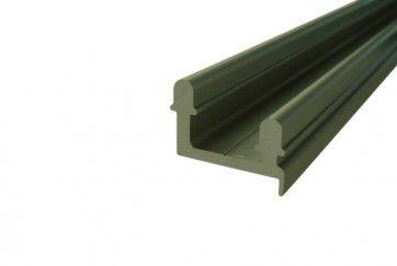 Aluminium bovenrail lengte 6m
