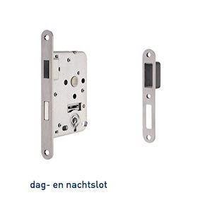 Magnetisch Insteekslot - Dag/Nacht klavier - afmetingen gelijk aan nemef 1200 serie