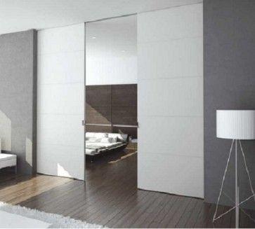 X5D schuifdeursysteem 301 x 2x103 cm PURE dubbele deur Profiel 75mm - wanddikte 125mm