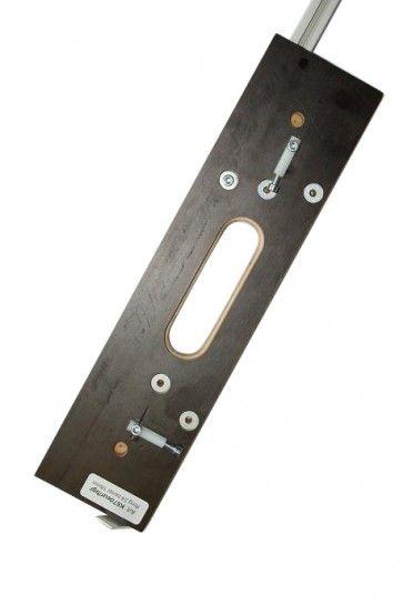 Enkelvoudige freesmal voor X4030 Voor 1 scharnier in kozijn en deur