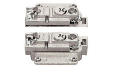 Frontbevestiging voor smalle aluminium kaders Aventos HK-S