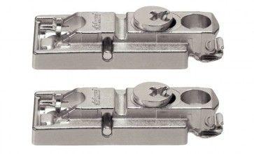 Frontbevestiging voor hout & breed aluminium kaders Aventos HK-S