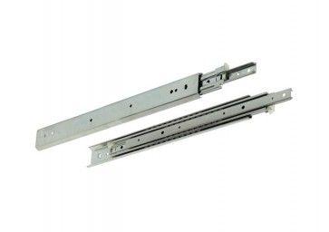 2 zijden uittrekbare ladegeleider - inbouwlengte 500 mm - volledig uittrekbaar - Max 88kg