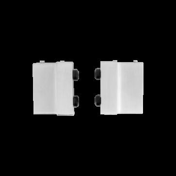 Deurstoppers - RVS - 4 cm