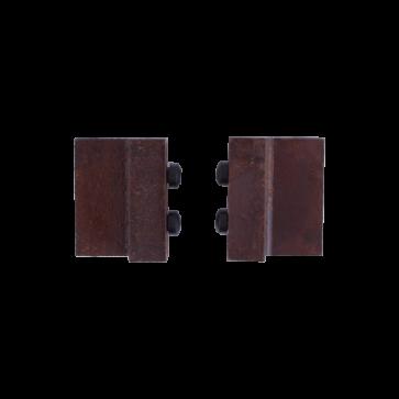 deurstopper - roest - 4 cm