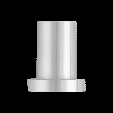 wandmontagesteun voor schuifdeur - RVS - 3,5 cm - deurdikte max 4 cm