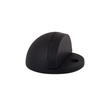 Deurstopper rond - zwart RVS - diameter 44 mm