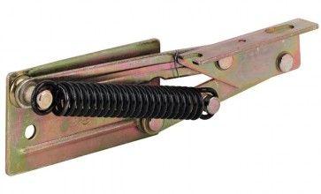 Hoekbankscharnier (12kg) Met veer, staal