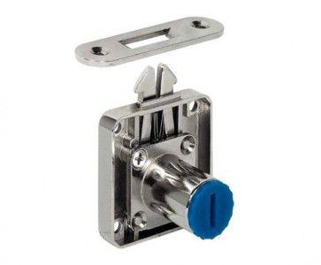 Jaloezieslot Lengte cilinder : 22 mm - Doornmaat 24,5 mm