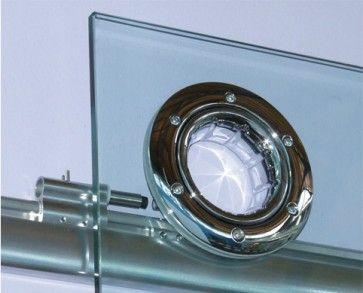 K2O kit loopwagens glas bijkomende kit voor dubbele deuren