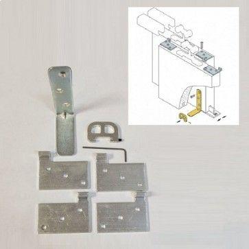 Parallel schuifdeur aanhaak / meeneem systeem om schuifdeur 2 mee te nemen