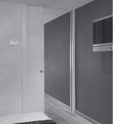 Softclose schuifdeursysteem plafondhoog max 50 kg - rail lengte max 600cm