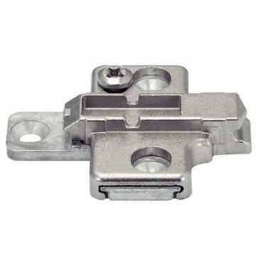 Kruis montageplaat - 0 mm - montage met schroef dikte 3,5 mm - productafbeelding - 175H7100
