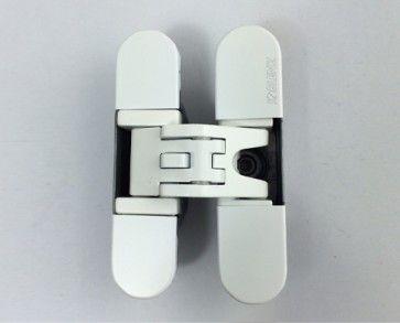 Kubica K6200 DIN onafhankelijk - wit RAL9016 Max deurgewicht 60 Kg bij 3 scharnieren