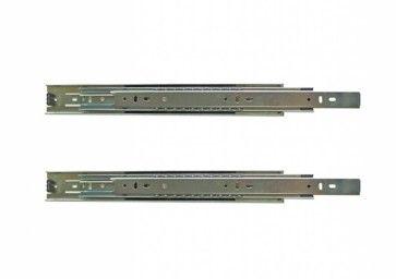 Ladegeleider - kogelgelagerd - Inbouwlengte 250 - 700 mm - volledig uittrekbaar - Max 45 Kg - Staal verzinkt