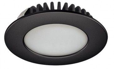 LED spot 12V - 3,2W - warm wit 3000K - zwart