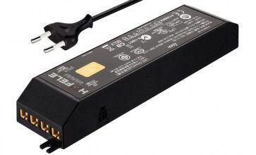 LED voeding 12V - 0 - 30W met EU-stekker - 6 aansluitingen - 1 schakelfunctie