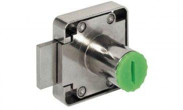 Opschroefslot exclusief cilinder + sleutel - LINKS Lengte cilinder : 22 mm - Doornmaat 25 mm