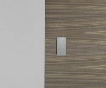 P02 INOX plaatjes voor No-Ha - 3mm Kant-en-klare afdekplaatjes voor in de deur