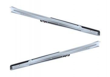 Rol Ladegeleider - inbouwlengte 350 mm - 70% uittrekbaar - Max 100 Kg - Staal verzinkt