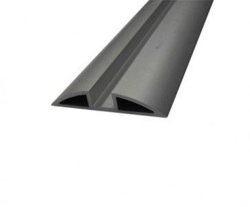 Aluminium onderrail vouwdeursysteem 0700 van 200 cm tot en met 600 cm