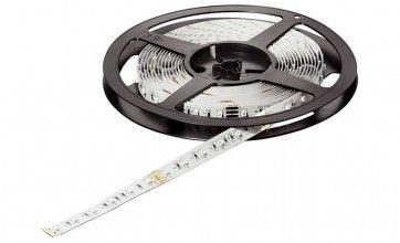 RGB kleuren LED strip op rol - 5m lang- 12V/24W zelfklevend - dimbaar