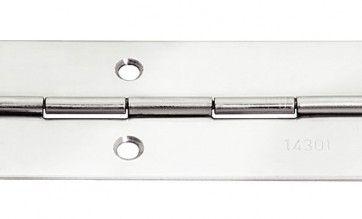 Pianoscharnier RVS 32x0.8mmx3.5m Voor verhoogde corrosie-eisen in en om het huis