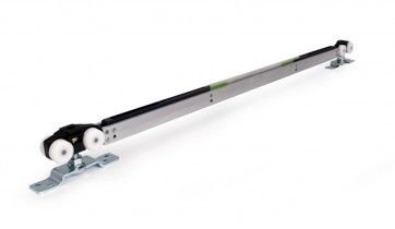 Ophangset plafondhoog- 2 ZIJDIGE demping - 80 Kg - deuren vanaf 91,6 cm