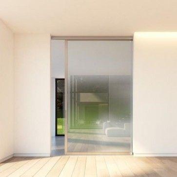 Schuifdeur systeem Slideways 6530 dhz bouwpakket voor stalen taatsdeur met glas - frame rondom - deuren B600 t/m 1475 x H1800 t/m 2950 mm