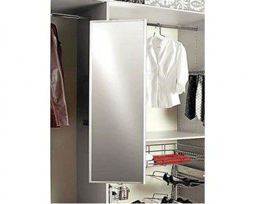 SUZE spiegel uittrekbaar en draaibaar hoogte bedraagt 565mm