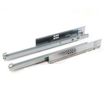 Blum Tandem 550H Blumotion softclose ladegeleider - kogelgelagerd - inbouwlengte 550 mm - uittreklengte 454 mm - max 30 Kg - ZELFSLUITEND en gedempt - staal verzinkt