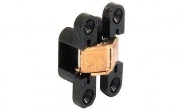 Scharnier VIDI Super Zwart 8x32mm Om te schroeven