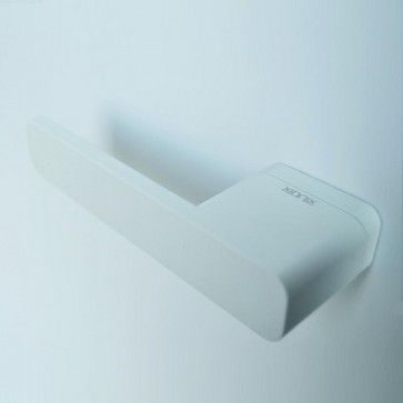 Xinnix serie 001 deurkruk design - zonder zichtbare rozet - wit - strak en minimalistisch