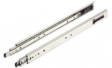 Softclose ladegeleider - kogelgelagerd - inbouwlengte 400 mm - max 65 Kg - volledig uittrekbaar - staal verzinkt