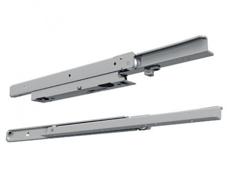 Softclose Rol Ladegeleider - inbouwlengte 900 mm - 70% - Max 100 Kg - Staal verzinkt