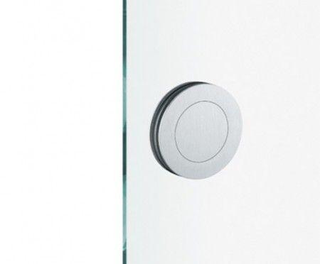 FSB schuifdeurgreep Flush RVS voor glazen panelen van 12mm dik
