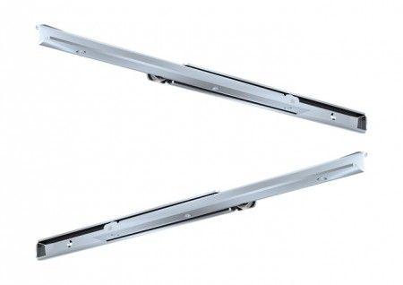 Rol Ladegeleider - inbouwlengte 600 mm - 70% uittrekbaar - Max 100 Kg - Staal verzinkt