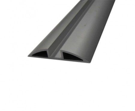 Alu onderrail vouwdeursysteem - 600 cm