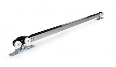Ophangset plafondhoog- 2 ZIJDIGE demping - 120 Kg - deuren vanaf 109,4 cm