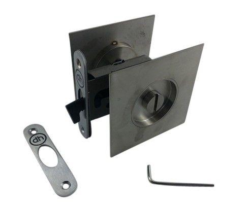 Toilet Vrij Bezet : Schuifdeurslot voor houten schuifdeur vrij bezet wc rvs