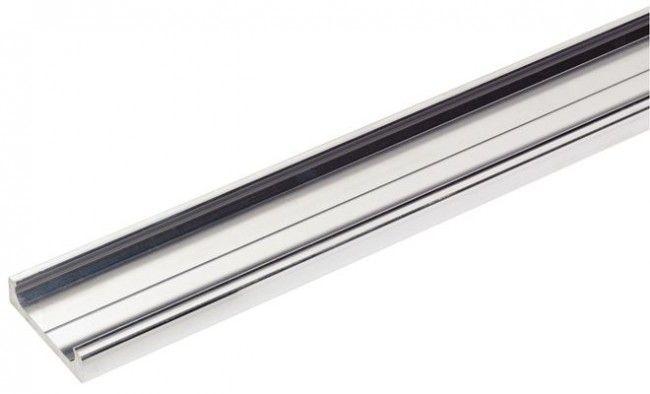 Aluminium looprail lineaire geleider lengte 2400 mm   inkortbaar
