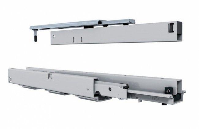 Apothekerskast geleider   max 75 Kg 400mm   met geintegreerde demping