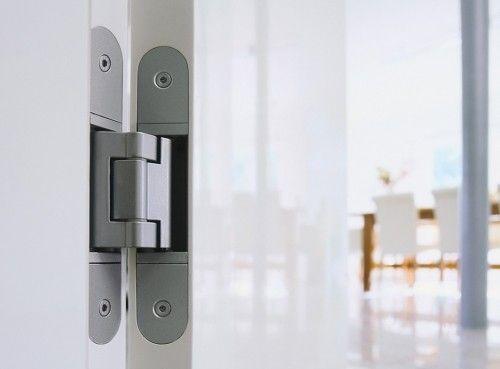Super RVS verdekt deurscharnier, keerbaar, RVS304 met 2 scharnieren 100 CY11